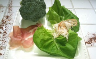 healthy lettuce wrap